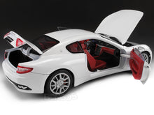 Load image into Gallery viewer, Maserati Granturismo (Gran Turismo) 1:18 Scale - MotorMax Diecast Model Car (White)