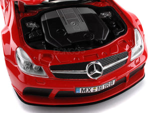 "Mercedes-Benz SL 65 AMG ""Black"" 1:18 Scale - MotorMax Diecast Model Car (Red)"