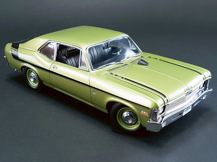 1970 Chevy Nova Yenko Deuce 1:18 Scale - GMP Diecast Model Car (Green)