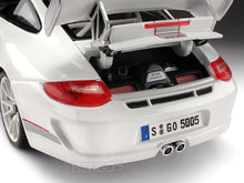 Load image into Gallery viewer, Porsche 911 (997) GT3 RS 4.0 1:18 Scale - Bburago Diecast Model Car (White)