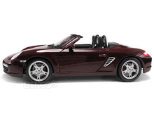 Load image into Gallery viewer, Porsche Boxster S 1:18 Scale - Maisto Diecast Model Car (Maroon)