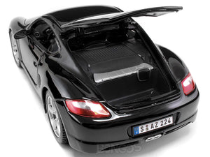 Porsche Cayman S 1:18 Scale - Maisto Diecast Model Car (Black)