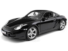 Load image into Gallery viewer, Porsche Cayman S 1:18 Scale - Maisto Diecast Model Car (Black)