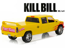 "Load image into Gallery viewer, ""Kill Bill Vol I & II - PUSSY WAGON"" Chevrolet Silverado SS 1:18 Scale - Greenlight Diecast Model Car"