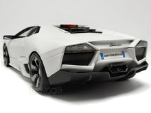 "Load image into Gallery viewer, Lamborghini ""Reventon"" 1:18 Scale - Bburago Diecast Model Car (Matt White)"