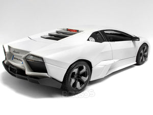 "Lamborghini ""Reventon"" 1:18 Scale - Bburago Diecast Model Car (Matt White)"
