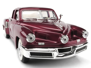1948 Tucker Torpedo 1:18 Scale - Yatming Diecast Model Car (Red)