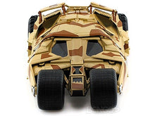 "Load image into Gallery viewer, Batmobile ""The Dark Knight Trilogy"" 1:18 Scale - Hot Wheels Diecast Model (Camo)"