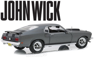 """JOHN WICK"" 1969 Ford Mustang Boss 428 1:18 Scale - Highway 61 Diecast Model Car"