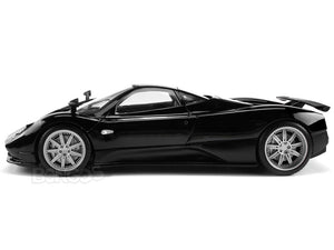 Pagani Zonda F (C12F) 1:18 Scale - MotorMax Diecast Model Car (Black)