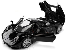 Load image into Gallery viewer, Pagani Zonda F (C12F) 1:18 Scale - MotorMax Diecast Model Car (Black)