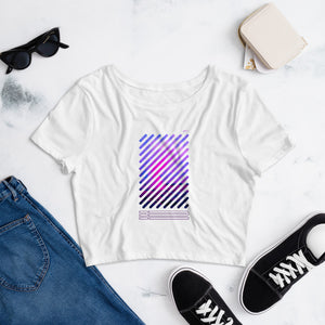 JE - Vapor Wave 3 - Crop Tee