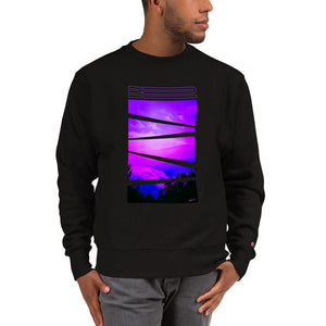 JE - Vapor Wave 1 - Champion Sweatshirt