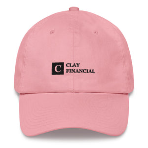 Clay Financial Logo Cap
