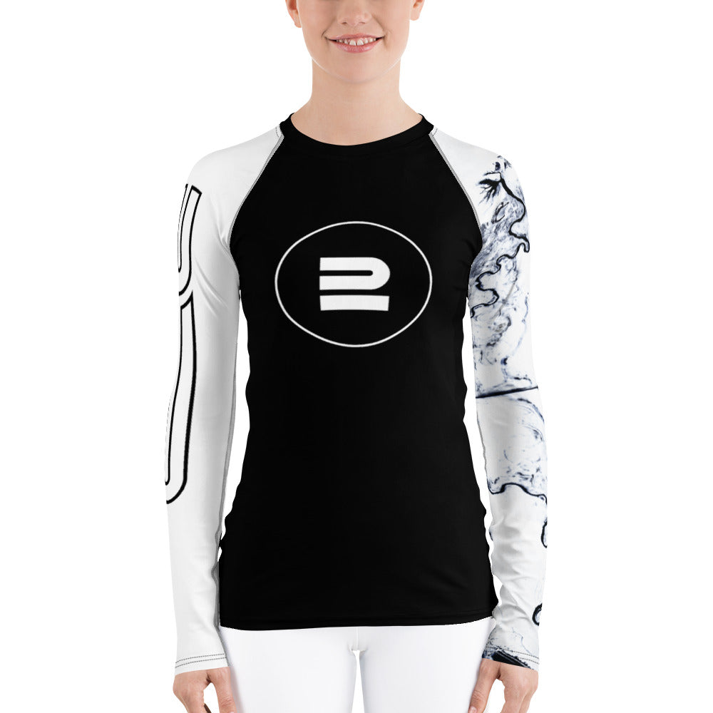 Basalt - AG - Womens BJJ Rash Guard I