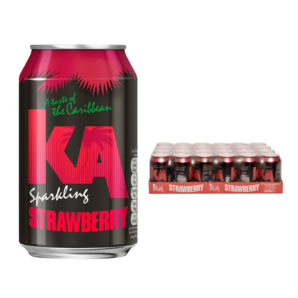 KA Strawberry Cans
