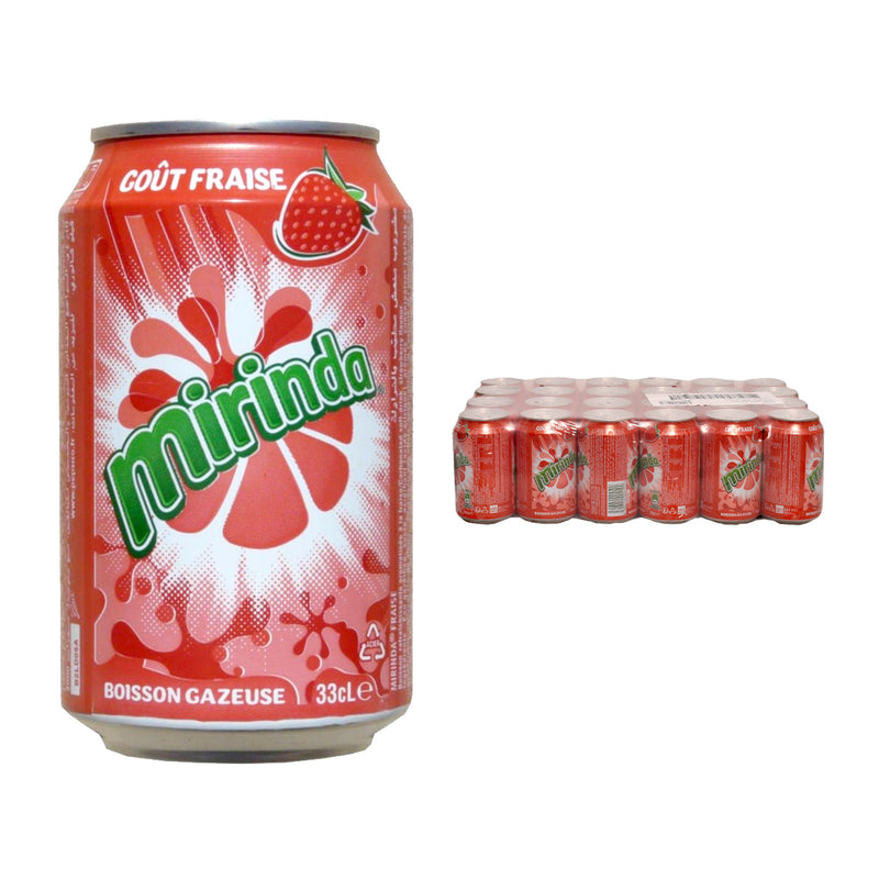 Mirinda Strawberry Cans