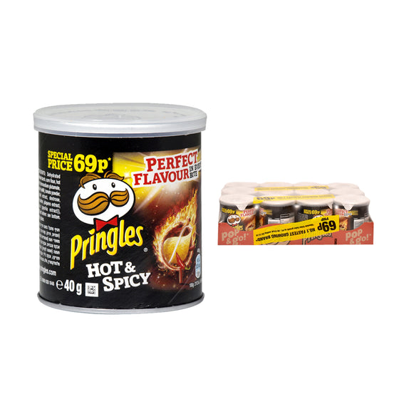 Pringles Mini Hot & Spicy Crisps