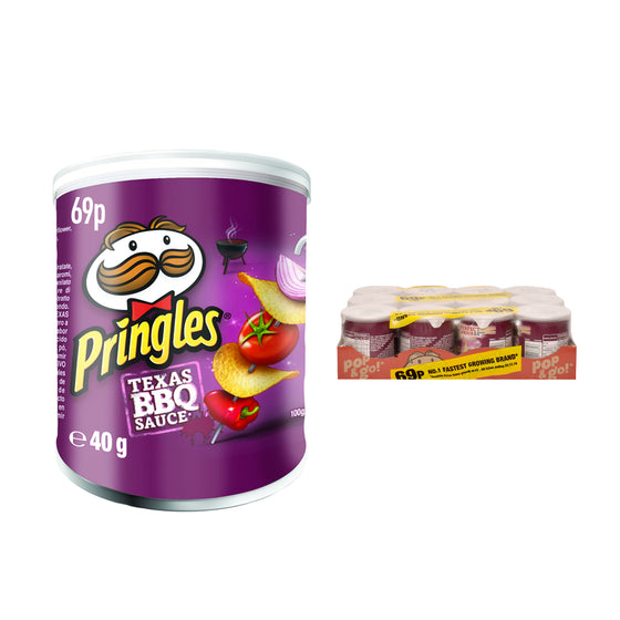 Pringles Mini Texas BBQ Crisps