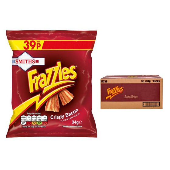 Walkers Frazzles Crispy Bacon Crisps