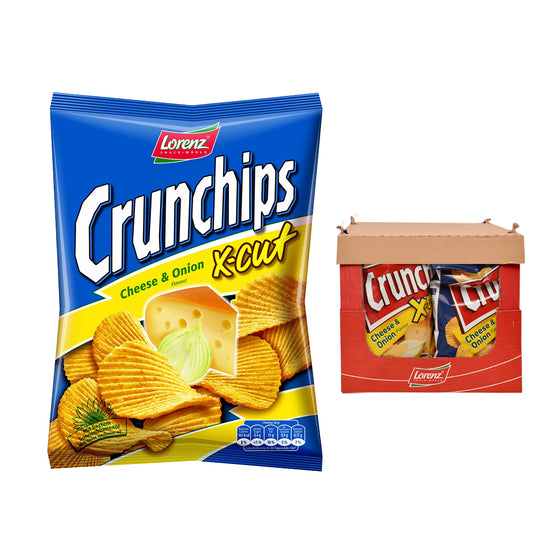 Lorenz Chips X-Cut Cheese & Onion