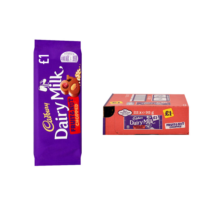 Cadbury Block Fruit & Nut Chopped