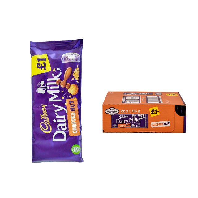 Cadbury Block Chopped Nut
