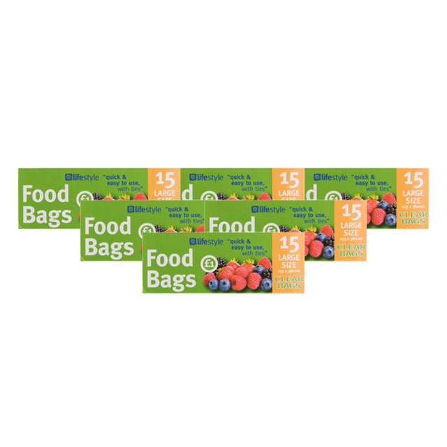 Lifestyle Large Food Bags