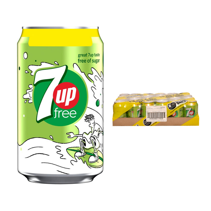 7up Sugar Free Cans