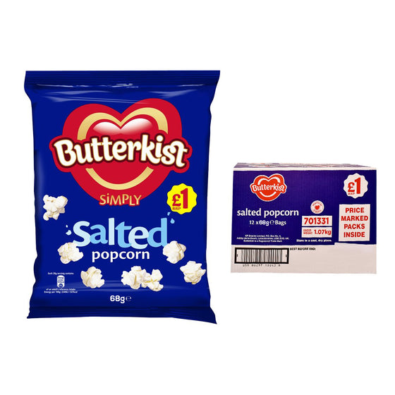 Butterkist Salted Popcorn