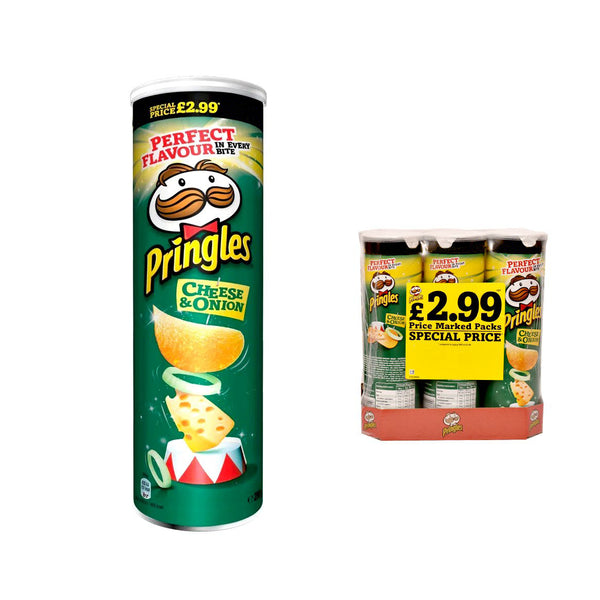 Pringles Large Cheese & Onion Crisps