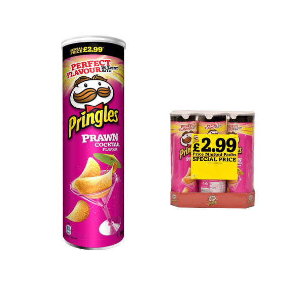 Pringles Large Prawn Cocktail Crisps