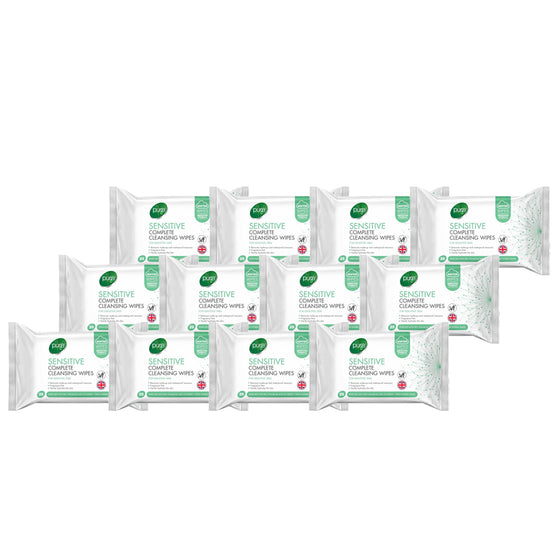 Pure Sensitive Complete Cleansing Wipes