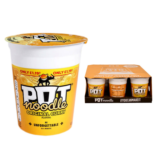 Pot Noodle Original Curry Flavour