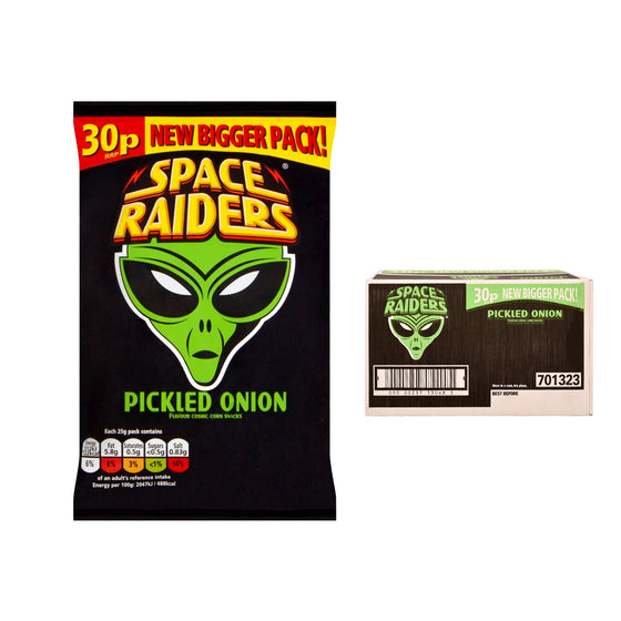 Space Raiders Pickled Onion Crisps