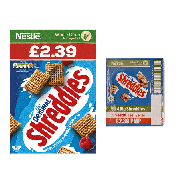 Nestle Shreddies Cereal