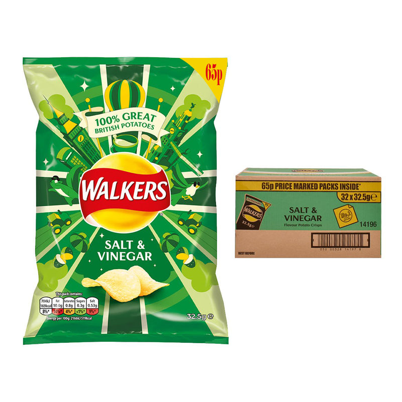 Walkers Salt & Vinegar Crisps