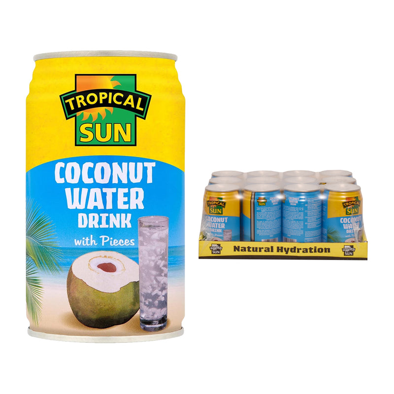 Tropical Sun Coconut Water with Pieces