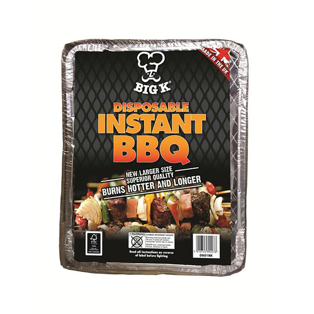 Big K Disposable Instant BBQ