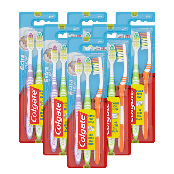 Colgate Toothbrush Extra Clean Triple