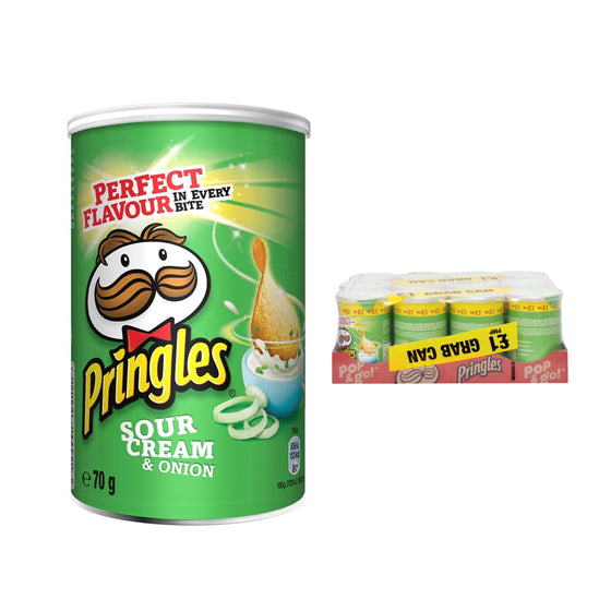 Pringles Sour Cream & Onion Crisps