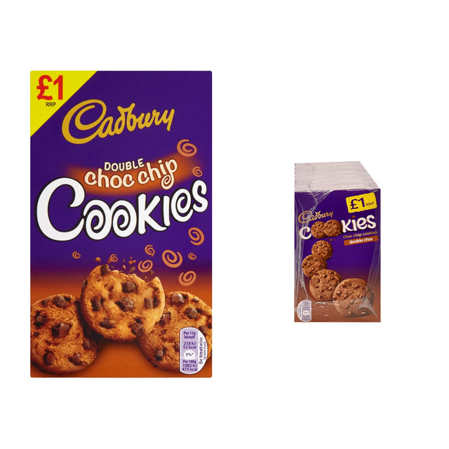 Cadbury Double Choc Cookies