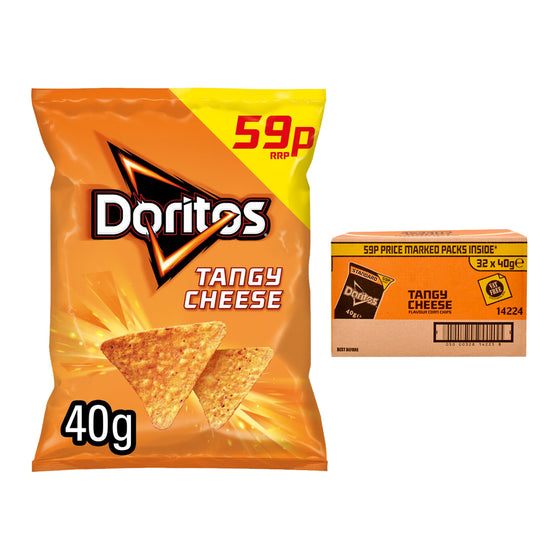 Doritos Tangy Cheese Crisps