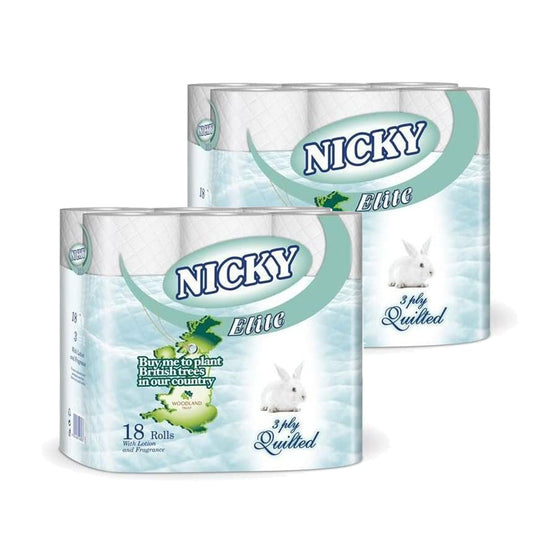 Nicky Toilet Roll White