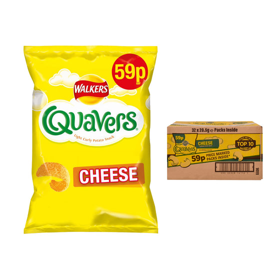 Quavers Cheese Flavour Crisps