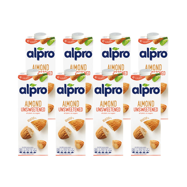 Alpro Almond Milk Drink Unsweetened