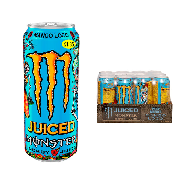 Monster Energy Mango Loco Cans