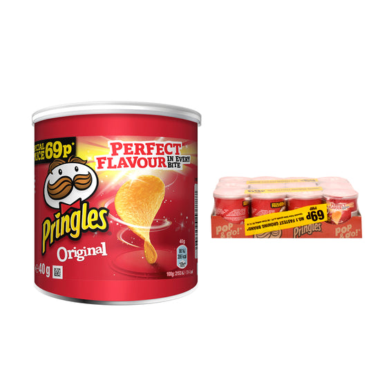 Pringles Mini Original Crisps