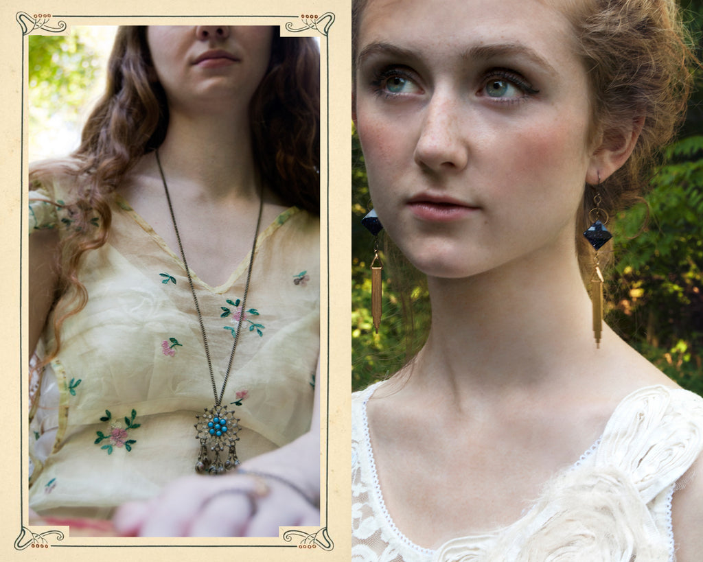 Autumn Botanicals Jewelry Collection by Red Heart 13 Jewery & Relics Art Nouveau