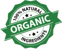100% Natural Organic Ingredients